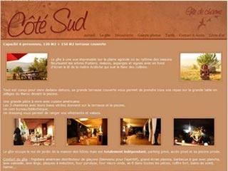 Gite Coté Sud, gîte haut de gamme en Ardèche