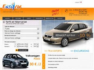 EnjoyCar : Location voiture Tunisie