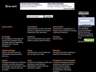 Lien Net, annuaire francophone gratuit