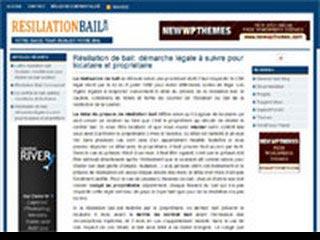 Résiliation Bail