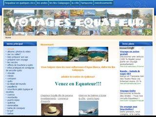Voyages Equateur, guide de voyage pour découvrir l'Equateur
