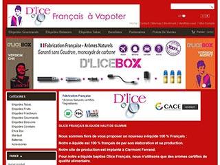 D'lice, cigarette électronique sans propylène glycol