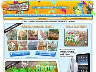 CadoVillage, jeux gratuits et des milliers de cadeaux