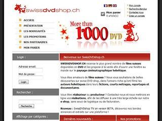 Vente de DVD suisses: nouveautés et bandes annonces