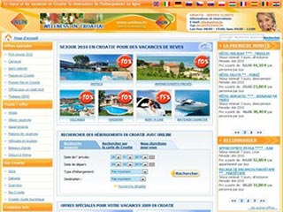 Uniline, hébergements et vacances en Croatie