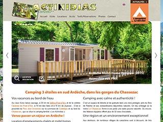 Bienvenue sur www.actinidias.com, pour un séjour en camping, en Ardèche sud