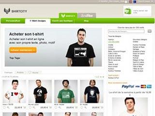 Shirtcity,  t-shirt personnalisé en ligne