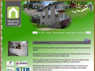 Hebergement Lafond, appartements meublés Trois-Rivières