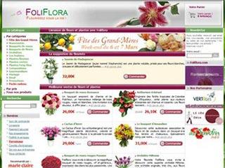 Foliflora : Livraison de fleurs, roses et plantes