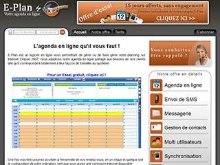 E-Plan, un logiciel de gestion du temps complet