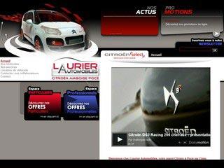 Laurier Automobiles, agent Citroën à Amboise 37