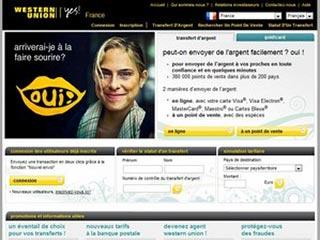 Western Union, envoyer de l'argent en ligne