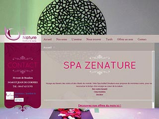 Institut de beauté de luxe Spa Zenature