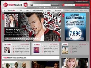 VirginMega, achat et téléchargement de musique