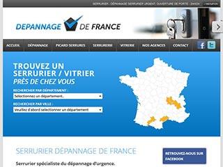 Dépannage de France : Serrurier-vitrier, dépannage urgent