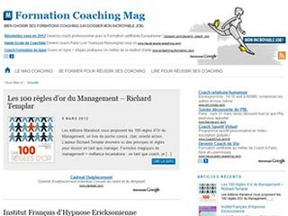 Formation Coaching Mag, les formations pour devenir coach