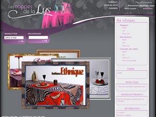 Nappe Online, vente de nappes et de linge de tables