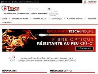 Tesca - Fibre Optique CR1C1, Vente cables audio, video, cordons informatiques