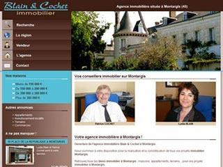 Blain & Cochet Immobilier à Montargis