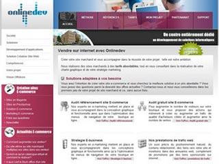 OnlineDev : Développement de solutions informatiques.
