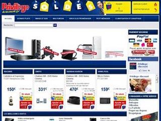 Privilège Discount : Electroménager et Hi-Tech