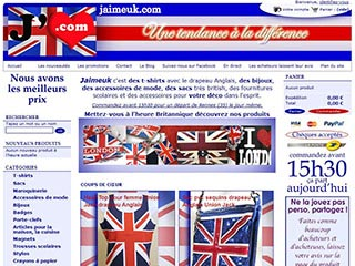 Jaimeuk : La boutique du drapeau Anglais et I love london