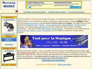 Occase-Music, petites annonces musique gratuites