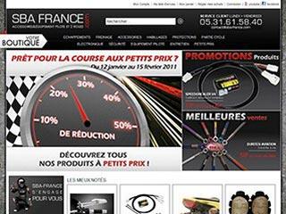 SBA France, la boutique pour les motards