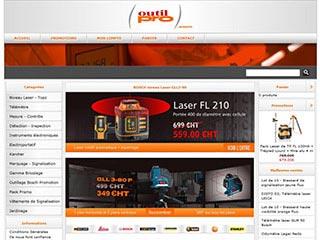 Outilpro : Telemetre laser, geofennel et laserliner