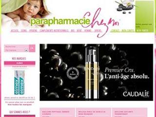 Parapharmacie Chez Moi, le site internet de la parapharmacie