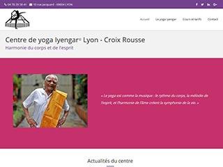 Site dédié aux cours de yoga iyengar à lyon
