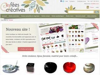 Les Fées Créatives, kits réalisation bijoux en perles