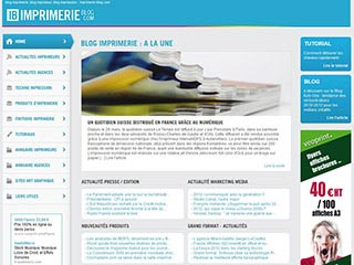 Imprimerie-blog : Le blog de référence sur l'imprimerie