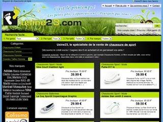 Usine23, chaussures de qualité à petits prix