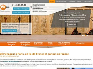 Déménagement d'entreprise à Paris 17 - PRlift Déménagement