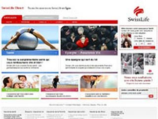 SwissLife Direct, complémentaire santé, vie, retraite