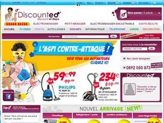 Discounteo France : Vente électroménager et High-tech