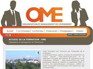 OME : Organisation et Management de l'événement