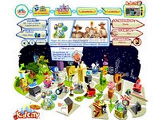 Kid City, la ville virtuelle pour les petits