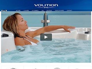 Volition : Fabrication de spa intérieur ou extérieur