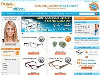 Happyview, spécialiste des lunettes de vue