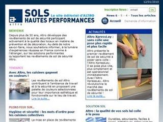Altro France : Revêtement de sol souple