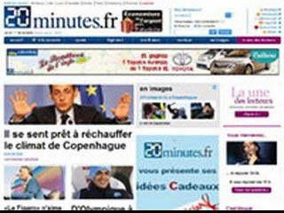 20minutes.fr, l'information en continu