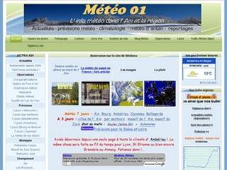 Météo 01 : Rhône Alpes météo