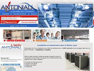 Sarl Antoniali, spécialiste climatisation locaux industriels