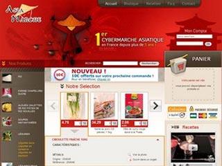 Asia Marché : vente en ligne de produits asiatiques