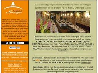Bistrot de la Montagne, restaurant pour groupe Paris