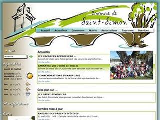Saint-Simon dans le Cantal, village d'Auvergne