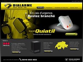 Dialarme, pose de vidéo surveillance et systèmes d'alarme