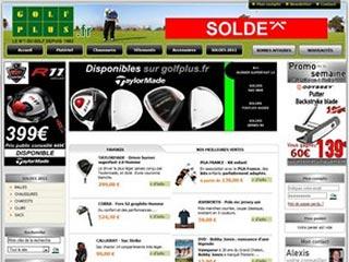 Golf Plus: Le spécialiste du matériel de golf